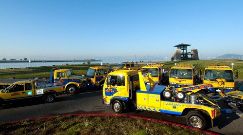 Some of Our Tow Trucks